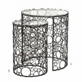 MOUSSE NESTING TABLES